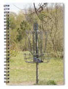 Brown Park Disc Golf Course Spiral Notebook