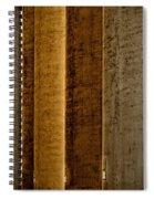 Brown Silos Spiral Notebook