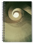 Brown Spiral Stairs Spiral Notebook