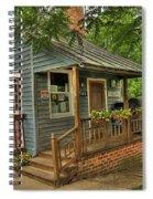 Brownsburg Post Office Spiral Notebook