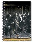 Bruce And The E Street Band Spiral Notebook