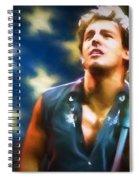 Bruce Springsteen Americana Spiral Notebook