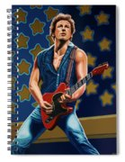 Bruce Springsteen The Boss Painting Spiral Notebook