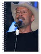 Bruce Willis Spiral Notebook