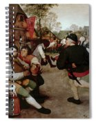 Bruegel, Peasant Dance Spiral Notebook
