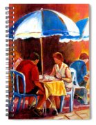 Brunch At The Ritz Spiral Notebook