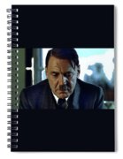 Bruno Ganz As Adolf Hitler Publicity Photo Number Two   Downfall 2004 Color Added 2016 Spiral Notebook