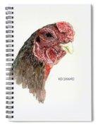 Bruno The Ko Shamo Rooster Spiral Notebook