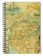 Brunswick To Rio Spiral Notebook