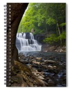 Brush Creek Falls II Spiral Notebook