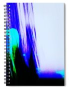 Brush Of Color And Light Spiral Notebook