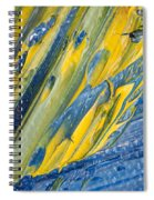 Brush Stroke Detail 8066 Spiral Notebook
