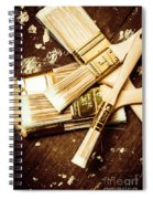 Brushes Of Interior Decoration Spiral Notebook