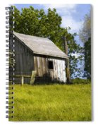 Brushy Peak  Cabin Spiral Notebook