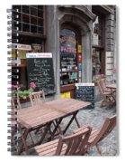 Brussels - Restaurant Chez Patrick Spiral Notebook