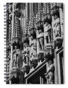 Brussels Gothic Spiral Notebook