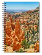 Bryce Canyon Fairyland Vista Spiral Notebook
