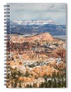 Bryce Canyon Looking Towards Aquarius Plateau   Spiral Notebook