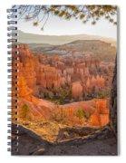 Bryce Canyon National Park Sunrise 2 - Utah Spiral Notebook