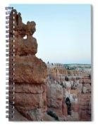 Bryce Canyon Navajo Loop Trail Window Spiral Notebook