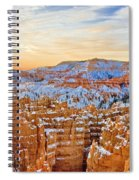 Bryce Canyon Sunset Spiral Notebook