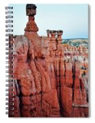 Bryce Canyon Thors Hammer Portrait Spiral Notebook