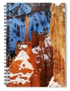 Bryce Canyon Winter 4 Spiral Notebook