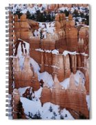 Bryce Canyon Winter 9 Spiral Notebook
