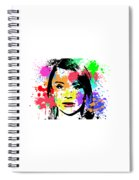 Bryce Dallas Howard Pop Art Spiral Notebook