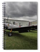Bt-13a Valiant Spiral Notebook