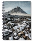 Buachaillie Etive Mor, Glencoe, Scotland Spiral Notebook