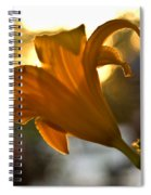 Bubble Blowing Flower Spiral Notebook