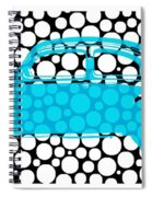 Bubble Car Vw Beetle Spiral Notebook
