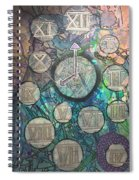 Bubble Clock Spiral Notebook