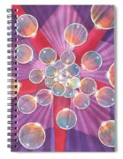 Bubble Glory Spiral Notebook
