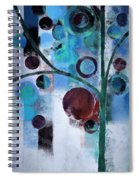 Bubble Tree - 055058167-86a7b2 Spiral Notebook