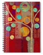 Bubble Tree - 85lc13-j678888 Spiral Notebook