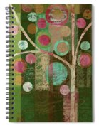 Bubble Tree - 85lc16-j678888 Spiral Notebook