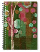 Bubble Tree - 85rc16-j678888 Spiral Notebook