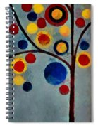 Bubble Tree - Dps02c02f - Left Spiral Notebook
