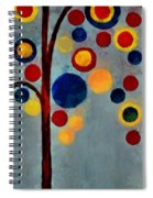Bubble Tree - Dps02c02f - Right Spiral Notebook