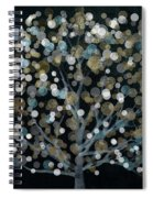 Bubble Tree Night Spiral Notebook