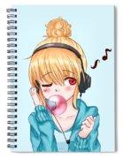 Bubblegum Girl Spiral Notebook