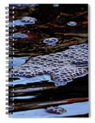 Bubbles In Bubbles Spiral Notebook
