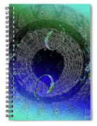 Bubbles In The Cosmos Spiral Notebook