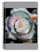 Bubbles Of Love Spiral Notebook