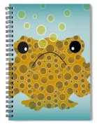 Bubbles The Fish Spiral Notebook