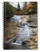 Bubbling Spring Branch Cascades Spiral Notebook