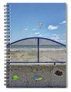 Buccaneer Beach Spiral Notebook