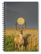 Buck Moon  Spiral Notebook